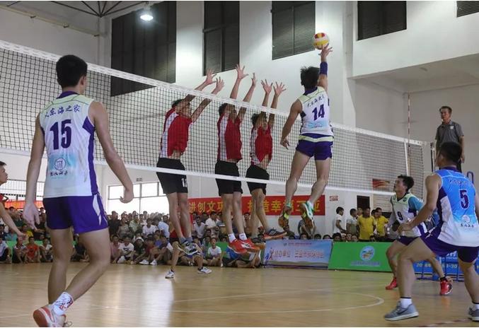 首届三亚村际排球联赛落幕  落笔洞队夺冠