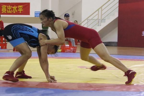 全国U23摔跤大奖赛女子自由式收官 10日男子自由式开战