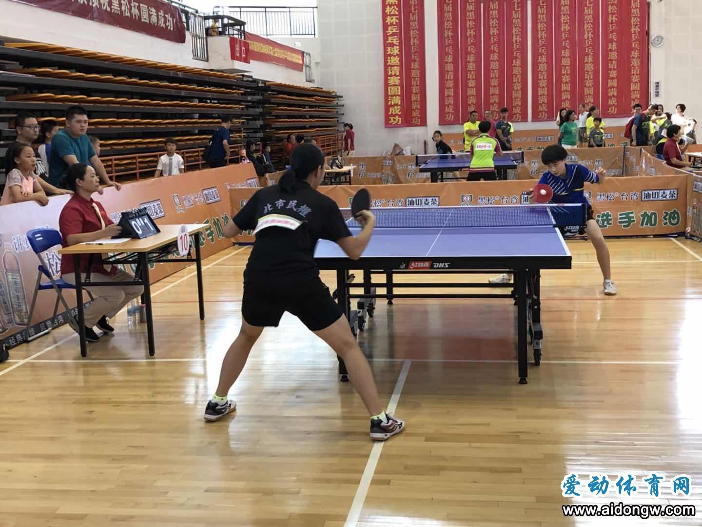 第七届海峡两岸乒乓球邀请赛落幕 海南选手获两项团体冠军