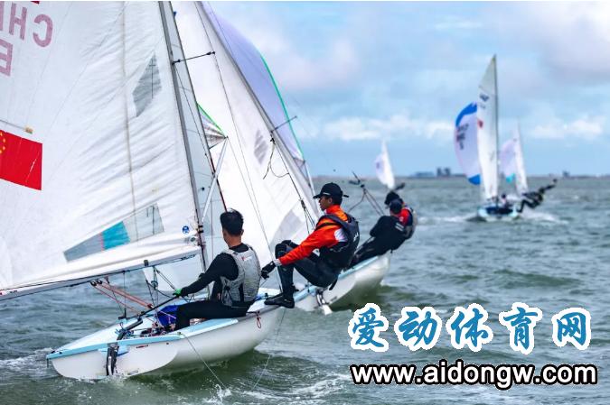 第五届省运会帆船帆板赛海口扬帆 白沙县运动员表现亮眼