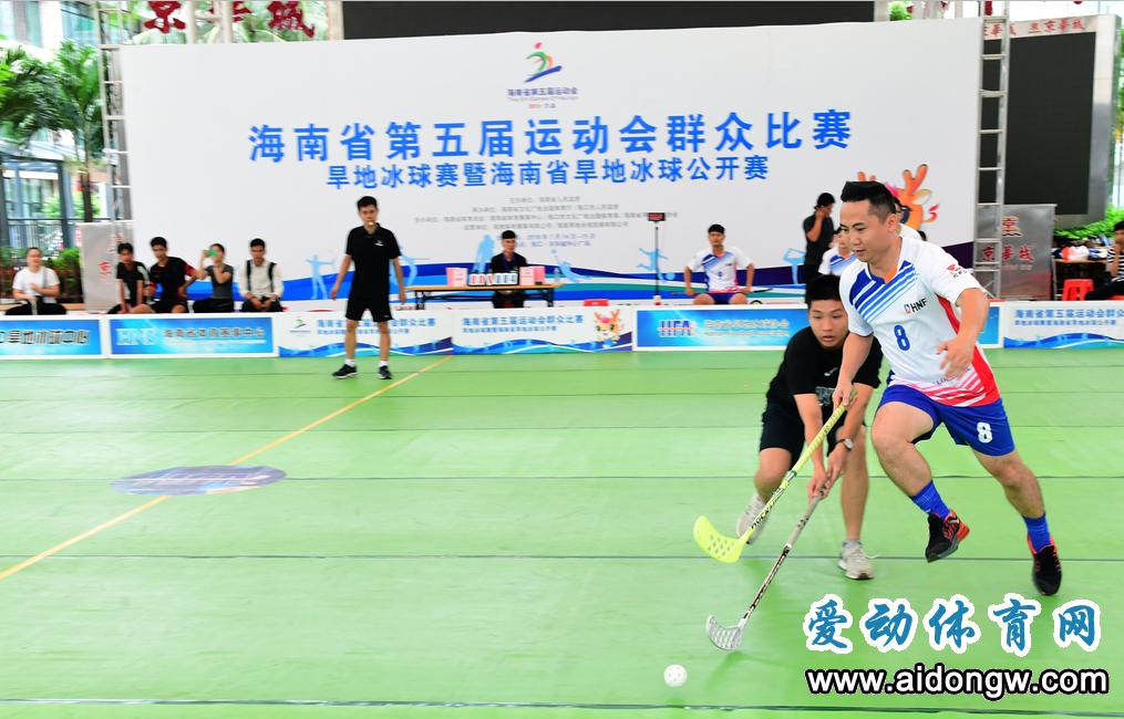 海南省第五届运动会群众比赛旱地冰球公开赛收官