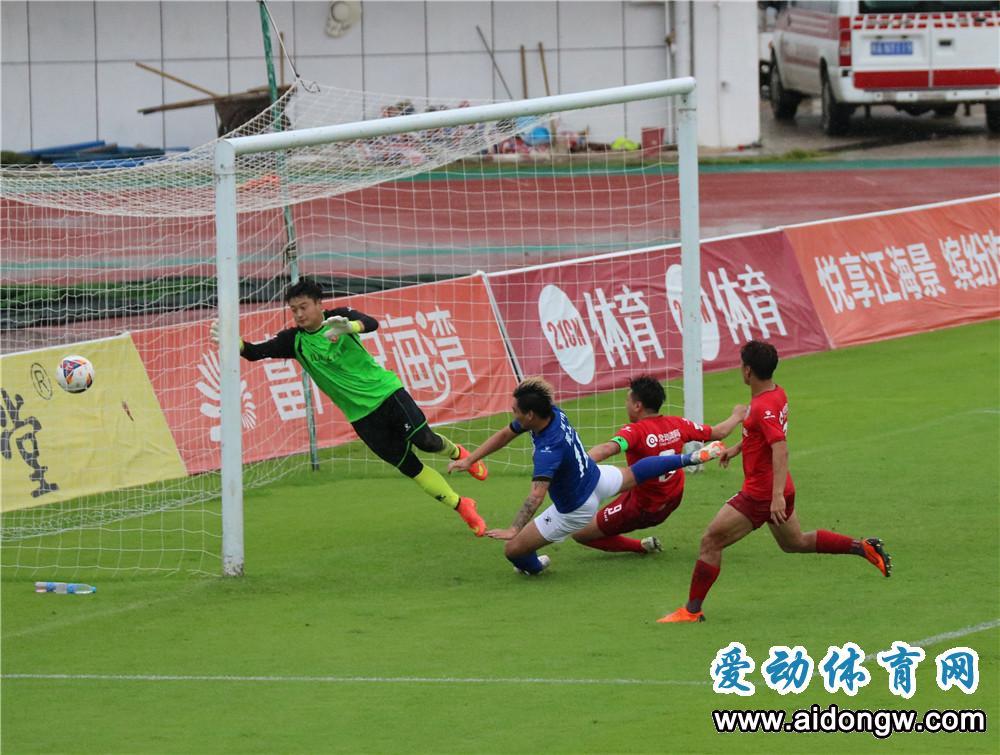胡扬扬头球建功刘海东梅开二度 海南海口队3:2胜镇江文旅