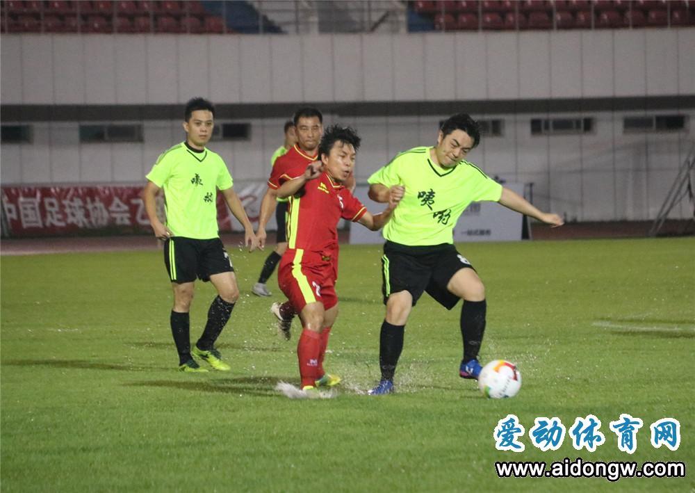 2018年海南省青少年足球赛省直组预选赛开赛 省地质局取开门红