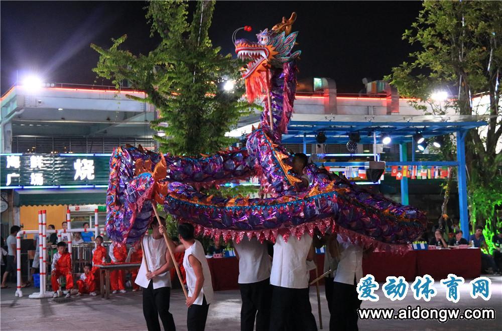 海南省运会群众比赛舞龙舞狮赛海口收官 海口市美兰区包揽三项冠军
