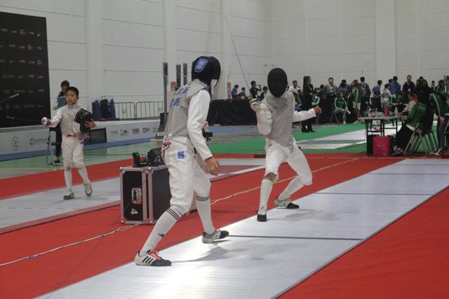 中国击剑俱乐部联赛海南站8月10日开赛
