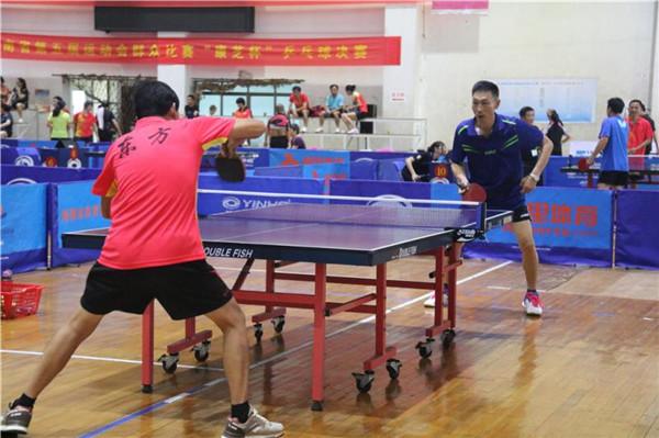 海南省运会群众比赛乒乓球决赛海口收官 邮政体协获4金