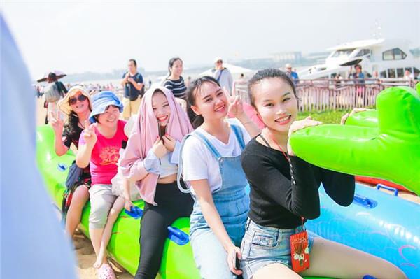 2018海南亲水运动季今日三亚盛大启幕  毕业季海滩嘉年华将嗨爆蜈支洲岛