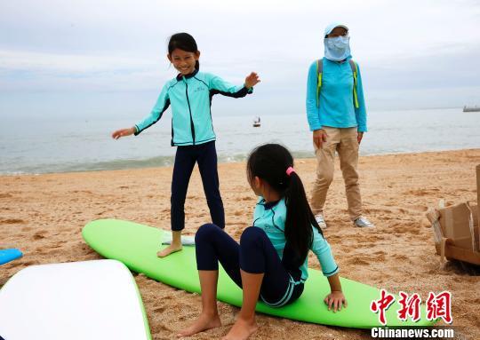 全国青少年冲浪夏令营三亚闭营