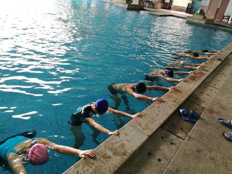 2018年海南省中小学教师游泳与救生培训班第二期开班