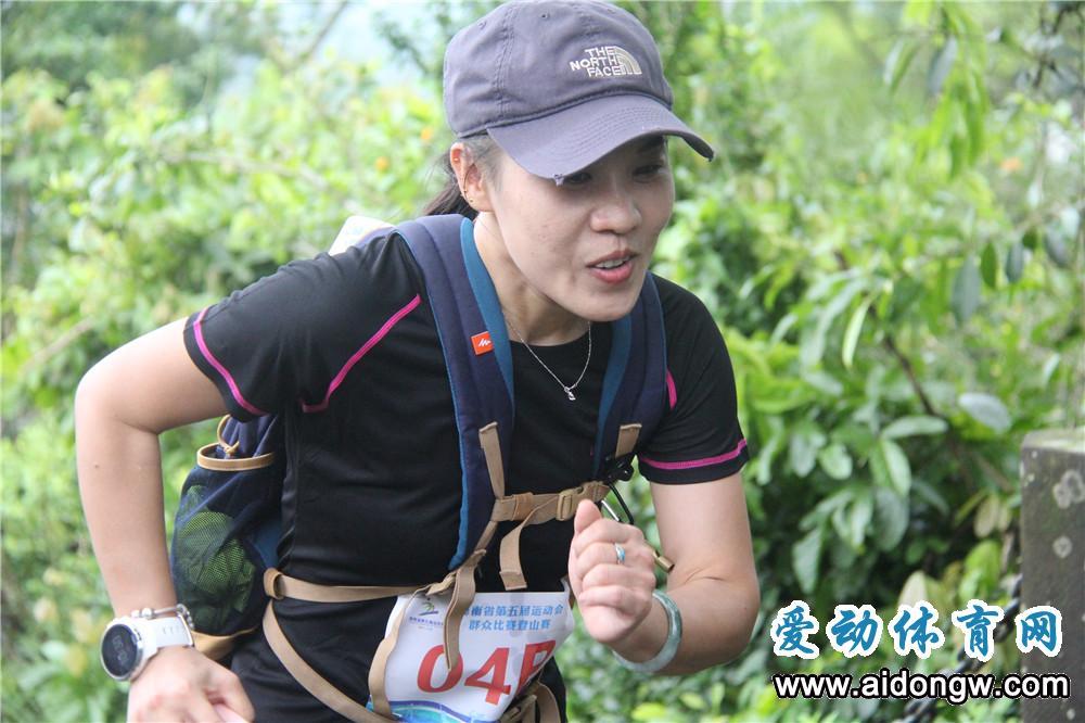 海南省第五届运动会群众比赛登山赛海口激情开赛