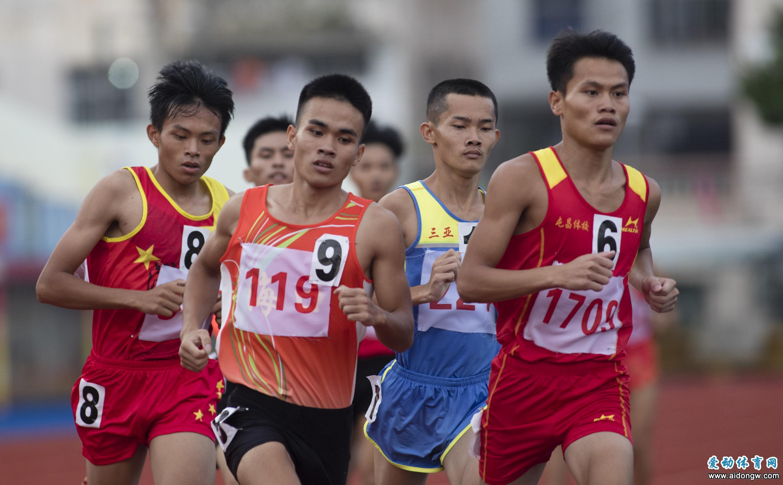 【图集】海南省第五届运动会田径比赛精彩瞬间