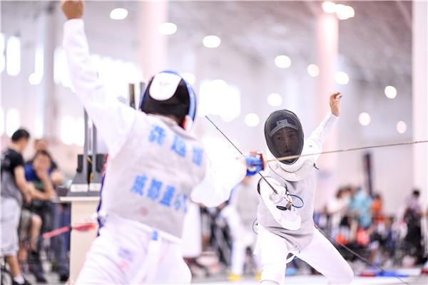 中国击剑俱乐部联赛海南站圆满收官 共产生90枚金牌