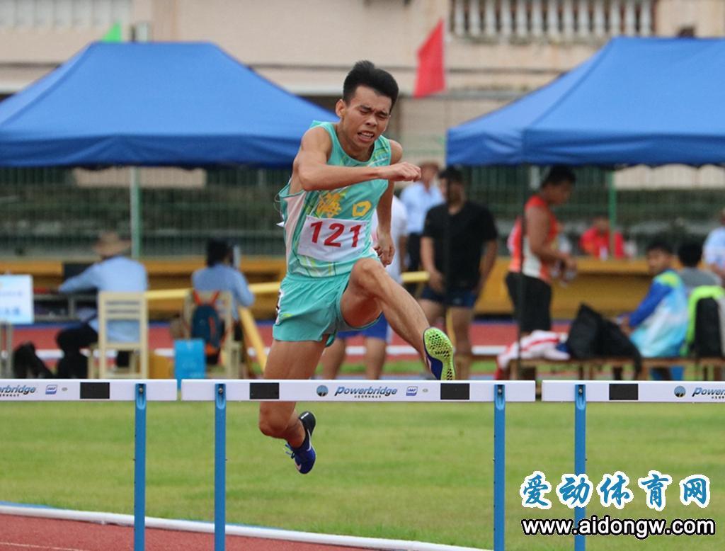 【省运会】渴望进入省队!东方小将唐以达四次刷新三项纪录