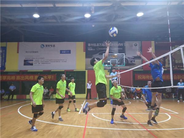 海南省第五届运动会群体项目气排球比赛三亚开打