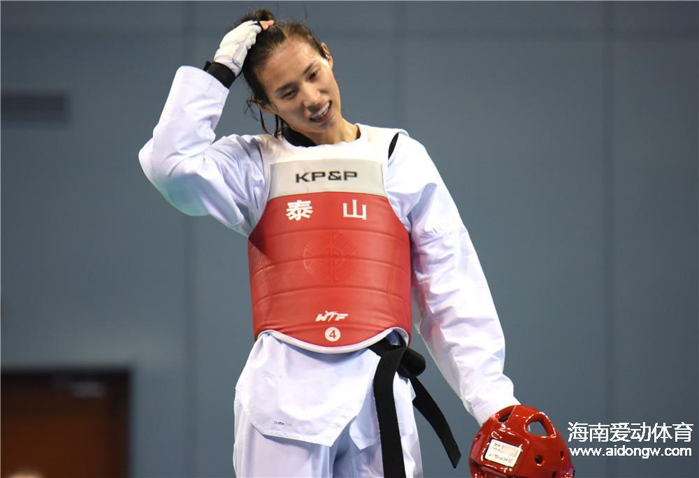 海南选手高盼亚运女子跆拳道夺铜   教练:有些遗憾,但收获宝贵经验
