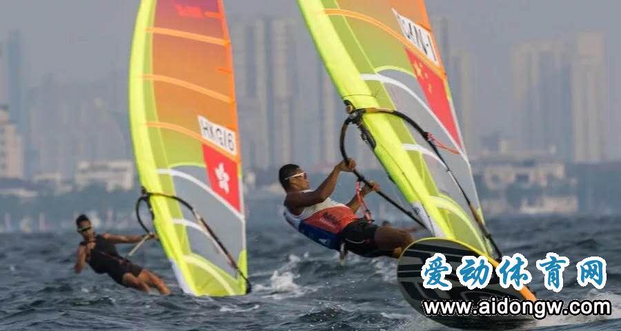 亚运帆船赛首日海南选手毕焜表现出色  两轮过后暂列第一