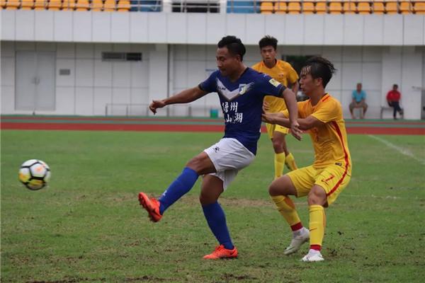 U19国青海口备战亚青赛 友谊赛1-1战平海南海口队