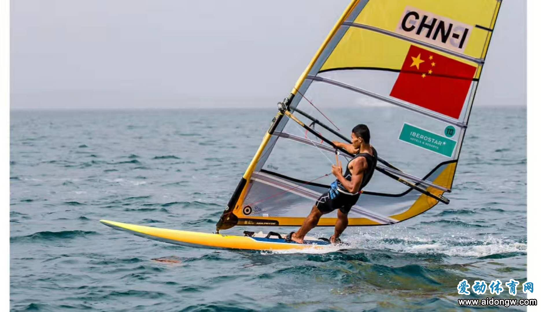 历史时刻!毕焜获男子帆板RS:X级冠军 为海南夺得首枚亚运帆板金牌