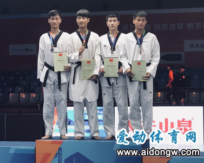 全国跆拳道锦标系列赛落幕 海南小将王重震夺银牌