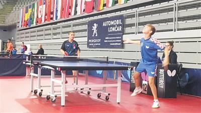 海南选手林诗栋创造历史!首夺国际乒联青少年巡回赛15岁组男团冠军