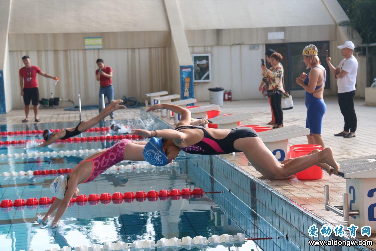2018年海南省游泳公开赛10月21日开赛 报名正式开启!