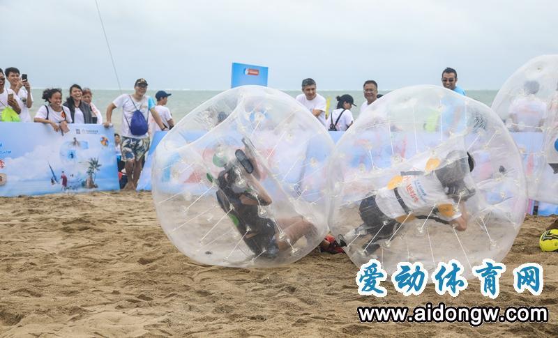 什么!体育+旅游还可以这样玩儿! 海南亲水运动季潭门赶海运动会尝鲜新玩法