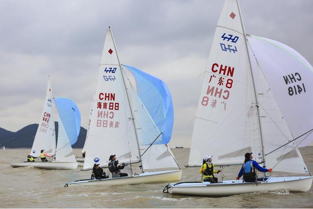 2018年全国帆船锦标赛落幕 海南选手李鑫夺1金1铜