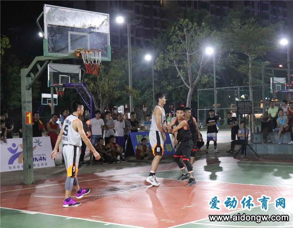 2018年海南省业余篮球公开赛陵水开打 海口宁翔首战告捷