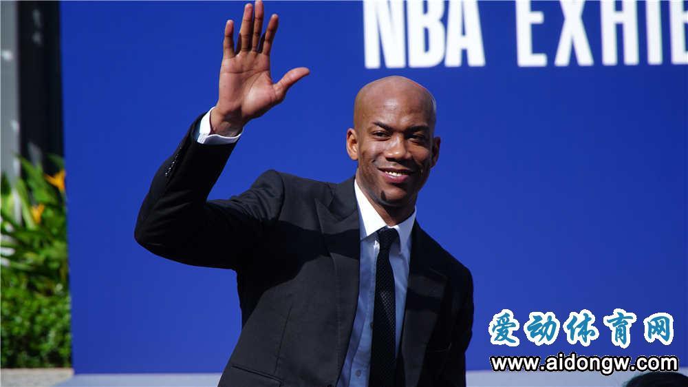 马布里来啦!NBA在中国首个互动体验馆开馆仪式海口举行
