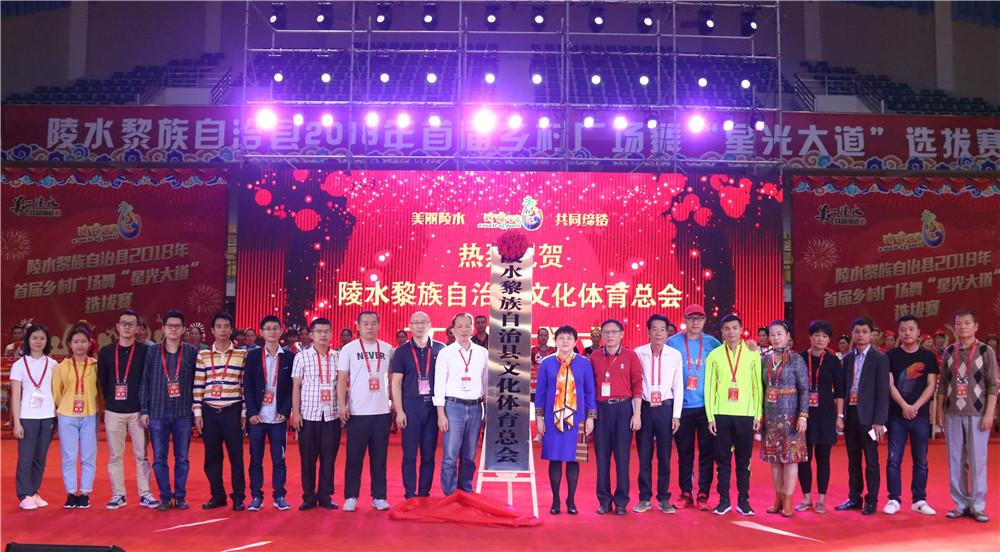 陵水黎族自治县文化体育总会揭牌 将加强旅游与文化体育产业融合发展