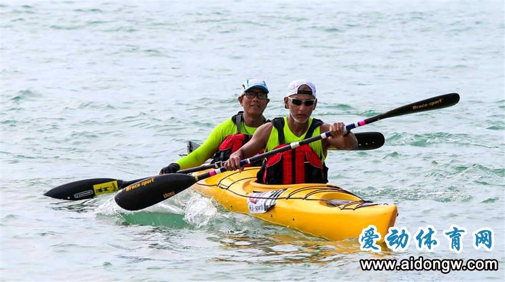 环海南岛国际皮划艇大赛三亚收官 千人共享海南亲水运动季乐趣