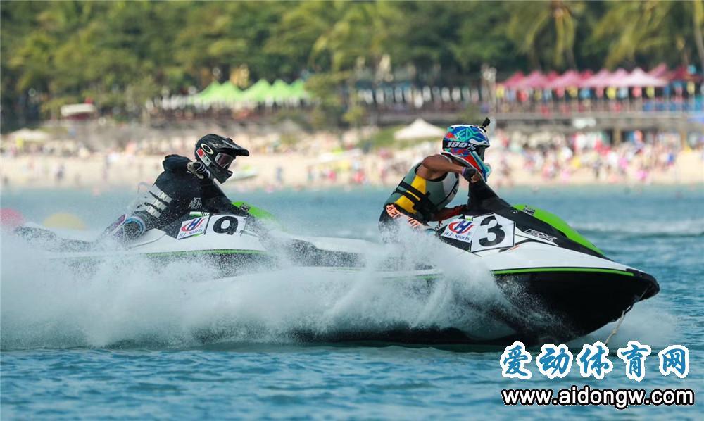 2018海南亲水运动季大东海摩托艇精英邀请赛落幕