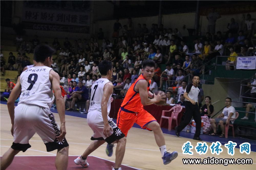 海南篮球小子吴星锐入选2019CBA星锐赛大学生联队