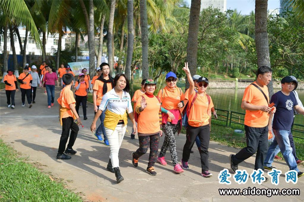 2019海口文明集结号·公益徒步健康行动活动启动