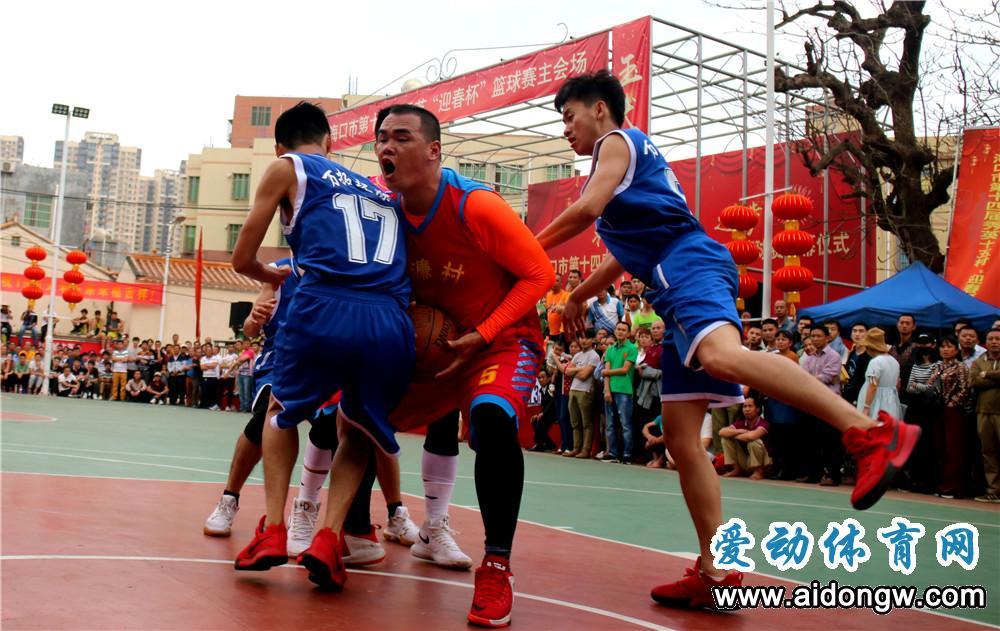 """2019海口市秀英""""迎春杯""""篮球赛赛程出炉"""