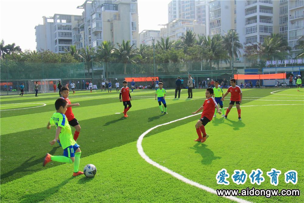 三亚足球小将金鑫入选中国少年队集训营