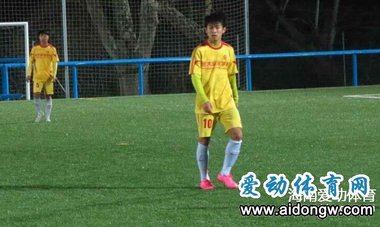 蔡明民将与U20国青男足前往意大利集训 将参加维亚雷焦杯国际青年赛