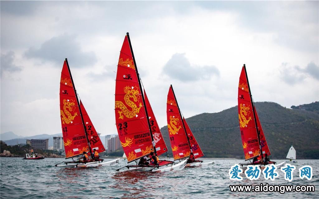 第十届海帆赛OP帆船邀请赛暨Hobie16全国帆船精英赛三亚落幕