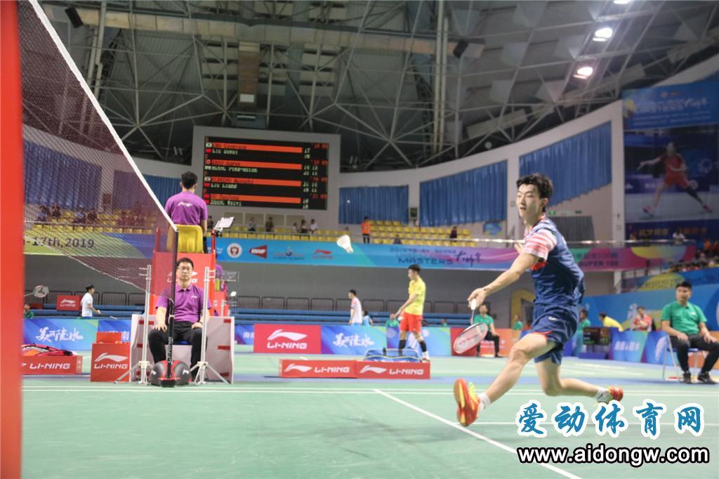 【图集】2019年中国(陵水)国际羽毛球大师赛挥拍