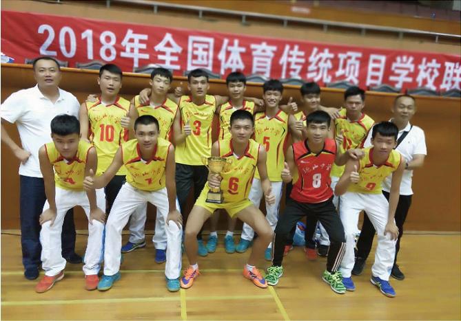 第十六届中国中学生排球联赛开打 海南三支球队首战告捷