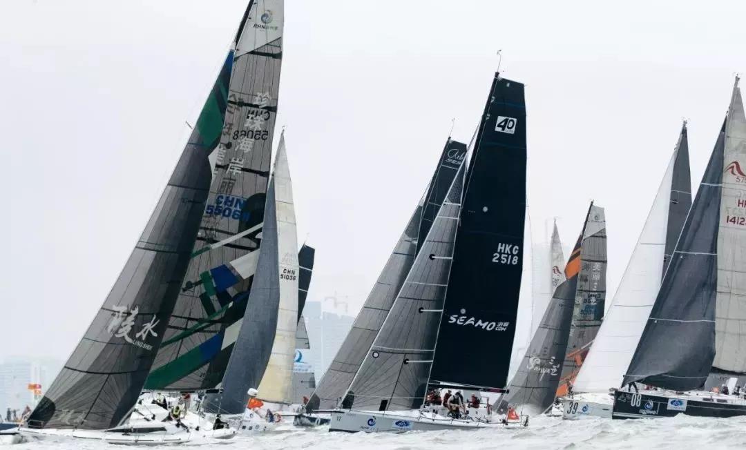 第十届海帆赛海口启航  深圳海浪队获海口场地赛IRC1组头名
