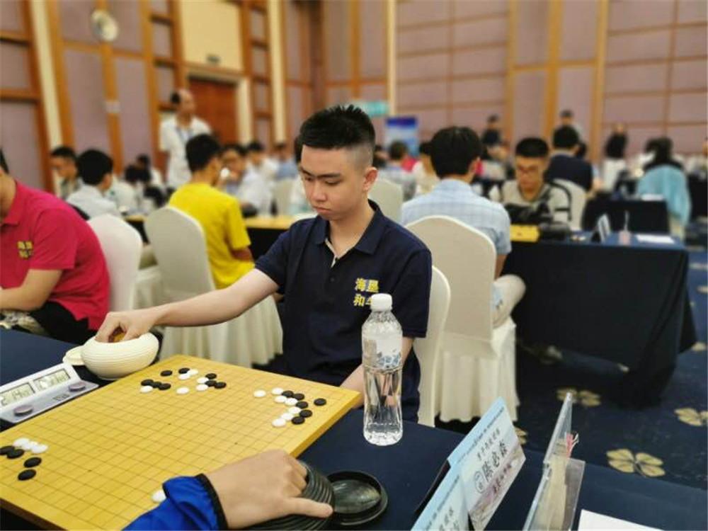 全国围棋锦标赛海南男队保持不败 海南女队憾负