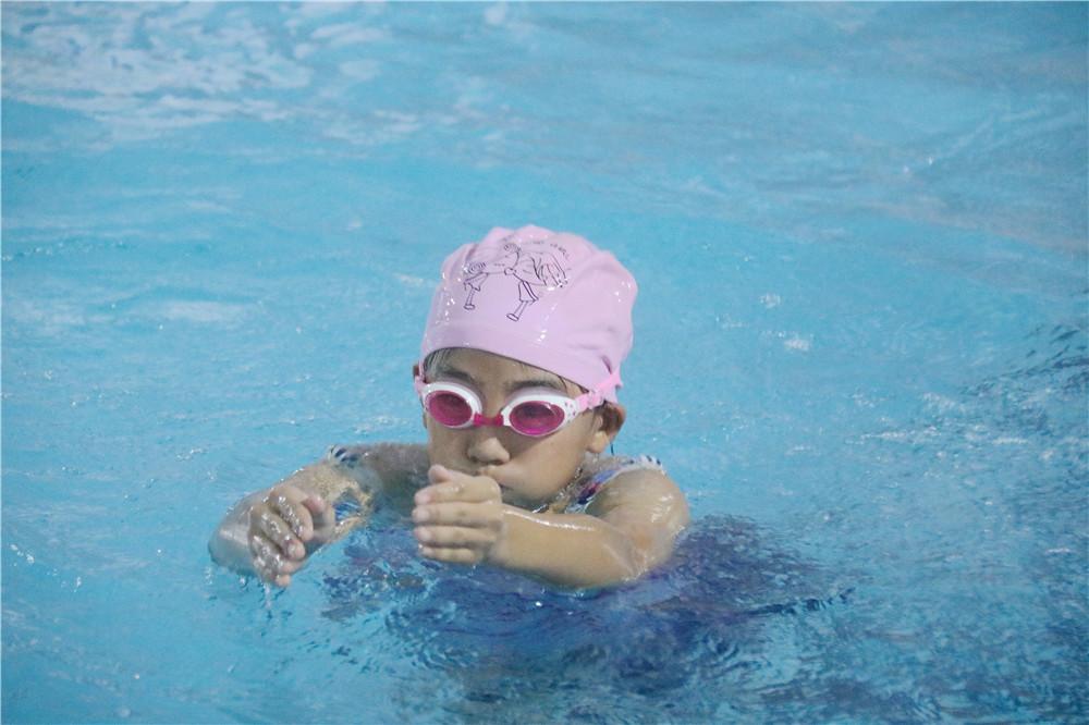 游泳普及初见成效!海口市首届中小学生游泳比赛美兰区选拔赛火爆进行