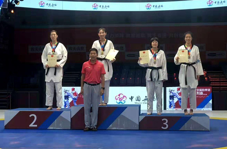 喜讯!全国跆拳道锦标赛第三站海南选手摘金夺铜