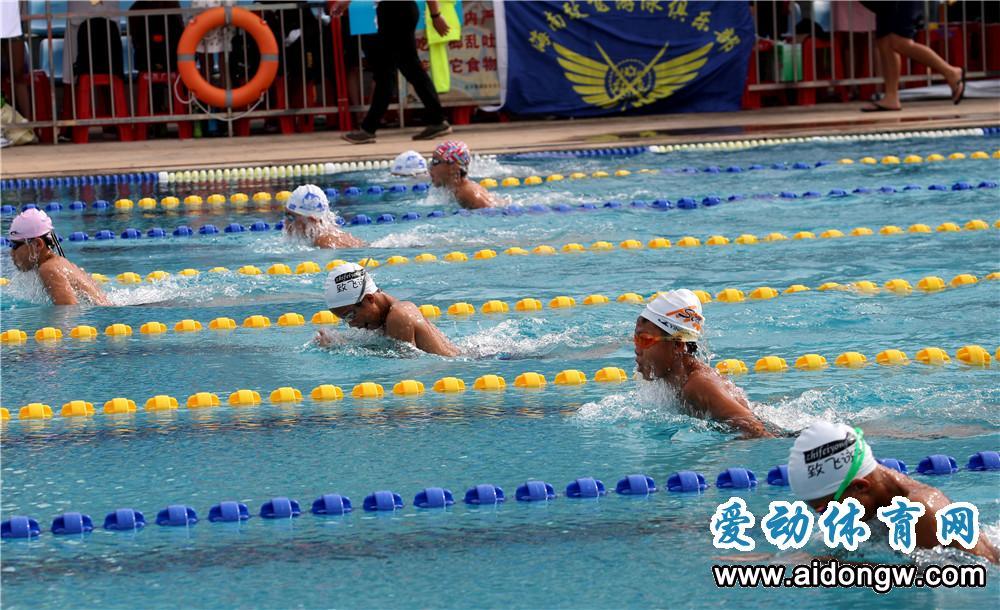 海南省少年游泳锦标赛陵水落幕 海口包揽男、女子团体冠军