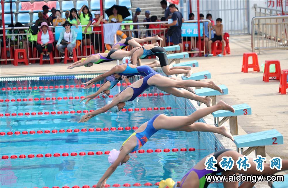 泳池激情再度袭来!2019年海南省游泳公开赛将于7月27日海南大学举行