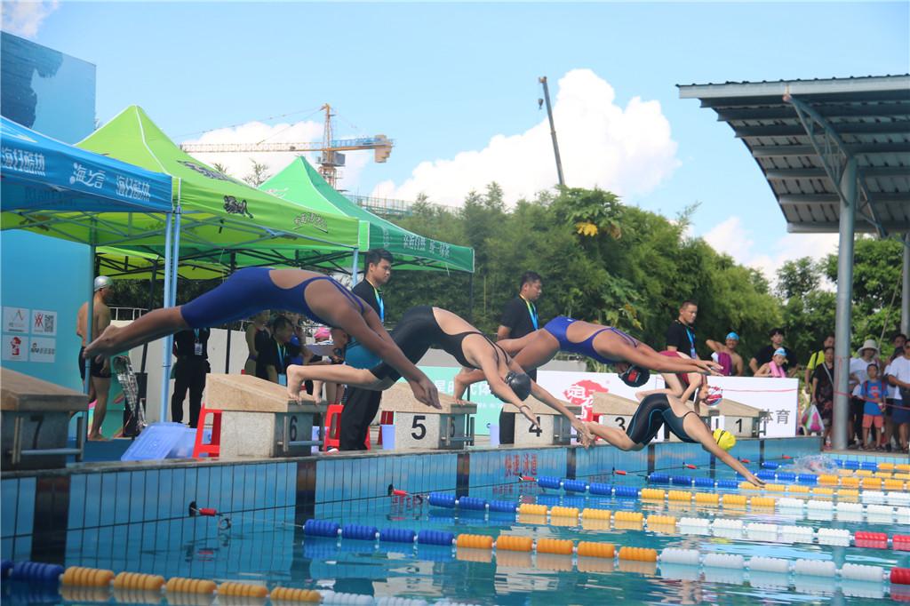 2019年海南省游泳公开赛落幕 低门槛吸引大量青少年参赛