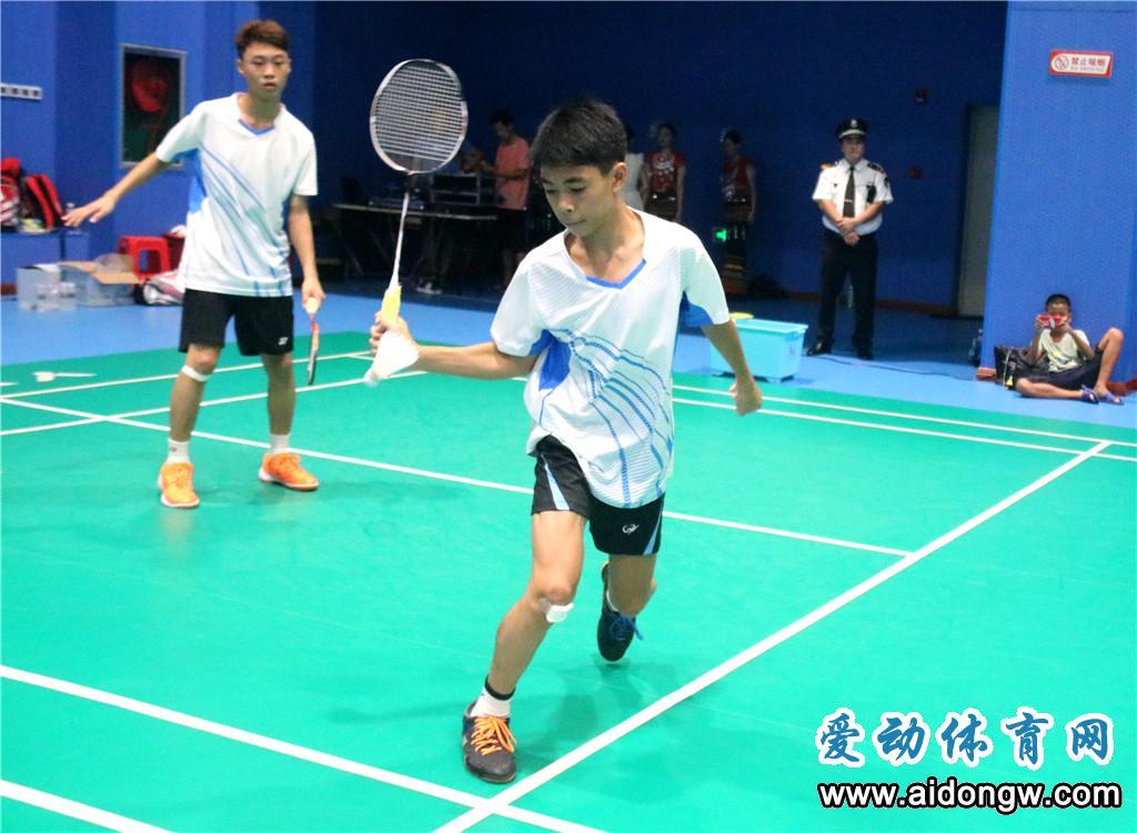 海南省少年羽毛球锦标赛白沙收官 陵水男、女团夺7连冠