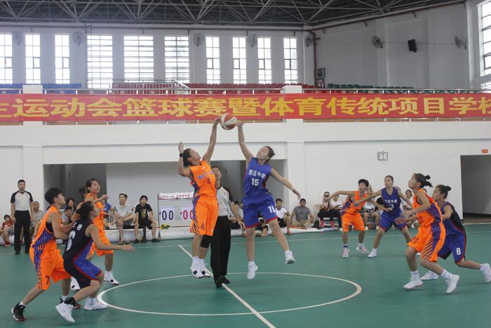 40支中学生篮球劲旅角逐澄迈!2019年海南省中学生运动会篮球赛开打