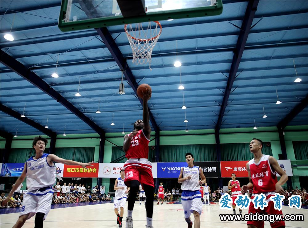 【视频】2019海口市篮球联赛决赛 第三回合 珠玑体育 海医二附院